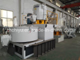 máquina mezcladora utilizado en la línea de producción de tubos de plástico