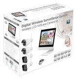 """4CH WiFi NVR 10.1 """" Installationssätze des Monitor-Netz-drahtlose Überwachungskamera-Systems-CCTV"""