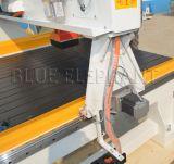 Router di CNC di falegnameria allungato asse di Z con CNC del cappuccio della polvere che intaglia macchina
