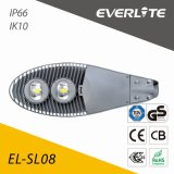 Lampada di via di Everlite 120W LED con IP66 Ik08