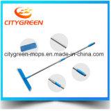 Mop телескопичного Mop Microfiber ручки плоский
