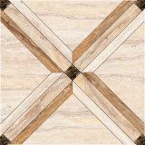 Glatte Keramikziegel-Porzellan-Fußboden-Polierfliese für Fußboden-Dekoration
