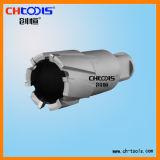 foret de faisceau de CTT de profondeur de 75mm avec la partie lisse de Weldon