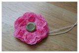 Flores del ramillete del papel de tejido