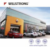 La Junta de la publicidad del Panel Compuesto de Aluminio 2000mm de ancho