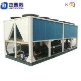 140tons /655.6kw que refresca el refrigerador de agua refrescado aire del refrigerador del tornillo de la capacidad