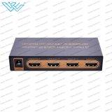 3 interruttore Port dello scambista 4K di Hdr HDMI audio tramite telecomando di IR