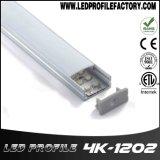 Radiateur en aluminium de la Manche d'éclairage LED, éclairage en aluminium du boîtier DEL