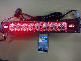 """22 """" 120W RGB LED 표시등 막대 7D 일 램프 Bluetooth APP& 철사 하네스 LED 표시등 막대"""