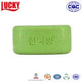 Bagno variopinto del sapone dell'olio di oliva verde di fragranza della frutta e sapone degli impianti di corpo