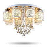 Круглое потолочное освещение СИД кристаллический для живущий комнаты