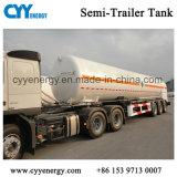 10m3有効な容量の液化天然ガスの低温学のセミトレーラーの交通機関タンク