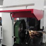 Máquina de estaca do laser da fibra para a câmara de ar/tubulação do metal