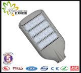 8 anos novos da garantia 130lm/a luz de rua do diodo emissor de luz potência solar de W 200W, lâmpada de rua do diodo emissor de luz, luz da estrada do diodo emissor de luz