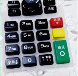 Boutons à télécommande respectueux de l'environnement de clavier numérique en caoutchouc de silicones