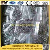 Reinigingsmachine van de Pot van Chainmail van het Gietijzer van het roestvrij staal De Pan