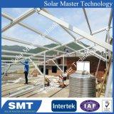 Aleación de aluminio anodizado 6005-T5 de fijación de la energía solar