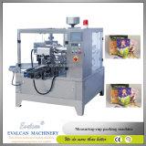 Empaquetadora rotatoria automática de Doypack del polvo