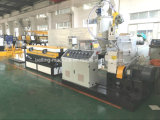 Espulsore del tubo flessibile della plastica PP/PVC/PE/macchina elettrici ondulati a parete semplice di fabbricazione