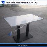 구부려지는 새로운 디자인 대리석 탁상용 탁자 또는 Corian 커피용 탁자 식사