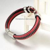 Armband de Van uitstekende kwaliteit van het Leer van de Juwelen van Shineme van Fabriek Derect (BL2870)