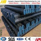 Lista tranqüila do carbono de superfície preto do fornecedor da tubulação de aço do ferro