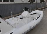 Liya 배 2017 싼 섬유유리 5.2m 늑골 Hypalon 두 배 선체 배 낚시질