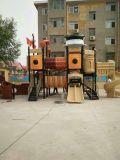 親および子供屋外公園の運動場のためによい海賊テーマパーク装置