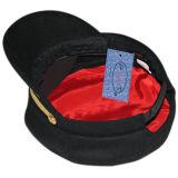 Крышка черного цвета воинская с конструкцией Customed