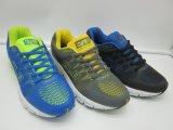 Turnschuhe der neuen Form-Männer, die athletische Schuhe mit PU-Material laufen lassen