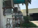 Dispositivo di raffreddamento di aria evaporativo industriale fissato al muro esterno