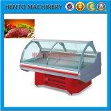 Réfrigérateur commercial d'étalage de viande de vente chaude