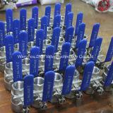 Form-Stahl-sich hin- und herbewegendes Kugelventil API-150lb mit ISO9001