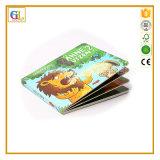 Impresión profesional del libro infantil de la cartulina del color