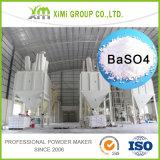 Sulfato de bário Baso4 natural para o revestimento marinho anticorrosivo