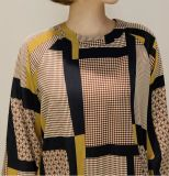 Повелительница Одевать втулки картины конспекта отдыха полиэфира OEM длинняя на осень