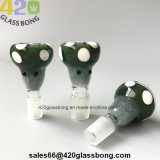 2018 Hotsell Marshroom de gama alta de recipientes de cristal para fumar los tubos de agua / Vasos de precipitado de 14 mm/Conjunto de 18mm