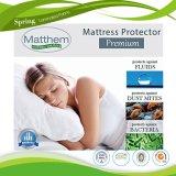 綿およびポリエステル高品質のマットレスのカバー機械洗濯できるクイーン・ベッドの中国の大型のエクスポート