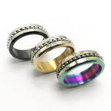 2018 Novo Cool homens jóias de anel de aço inoxidável