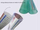 PVC Espiral de alambre de acero de alta presión Manguera con mejor calidad