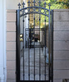 Utilisé Belle décoration maison en fer forgé Main Gate