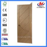 좋은 품질 경제 설계된 단단한 나무 실내 베니어 문 (JHK-FC)