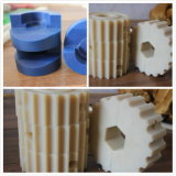 CNC Gedraaide CNC van Delen Draaiende Nylon Deel van Delen
