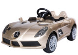 Mercedes SLR 아이는 차 장난감에 탐을 허용했다