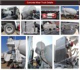 12cbm HOWO Sinotruk 8X4 Betonmischer-LKW-/Kleber-Mischer-LKW
