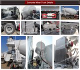 12cbm HOWO Sinotruk 8X4の具体的なミキサーのトラックまたはコンクリートミキサー車のトラック
