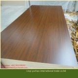 El papel de la melamina de la alta calidad hizo frente al MDF de madera del grano