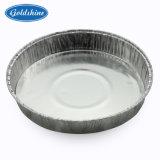 Conteneur de gâteau d'aluminium rond en aluminium pour l'emballage