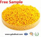 Gelber Masterbatch Draht und Kabel gelbes Plastikmasterbatch