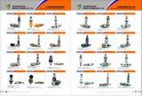 Sk230-6e distributeur auxiliaire rotatif de pièces d'excavatrice Kobelco